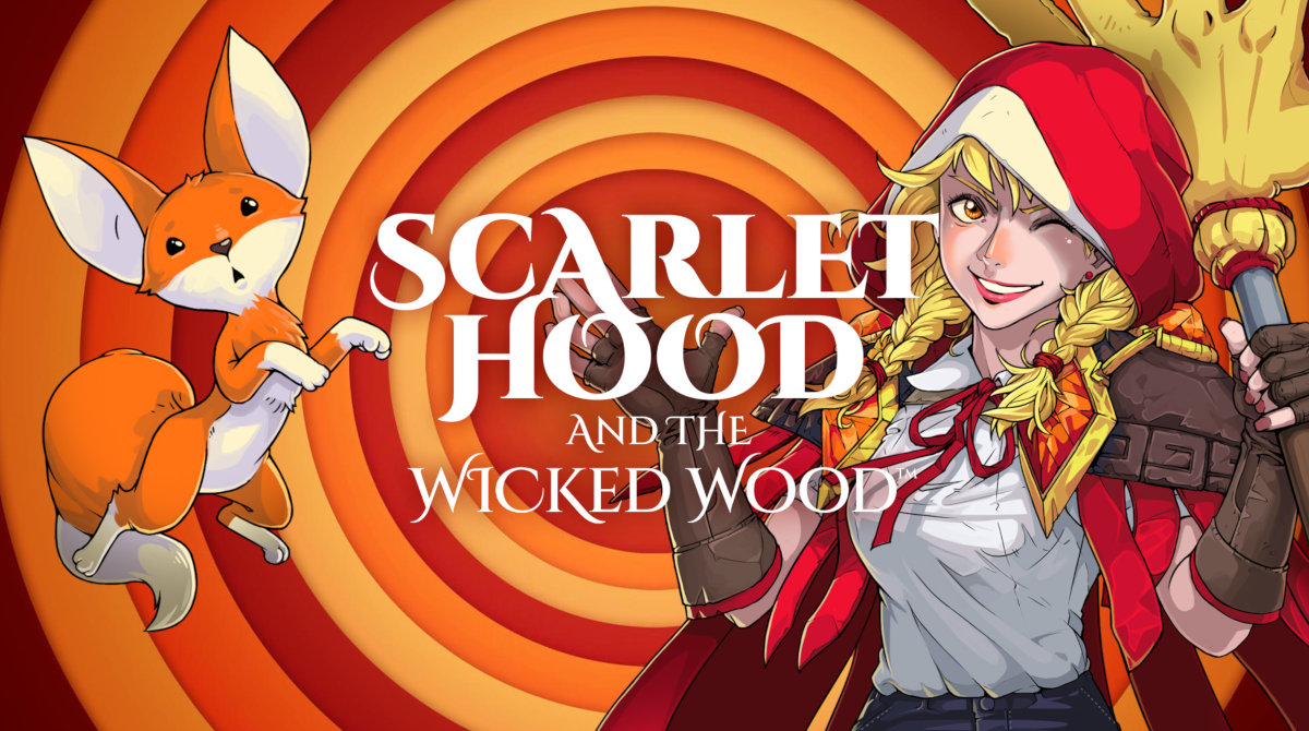 Scarlet Hood and the Wicked Wood Deluxe Edition [GOG] (2021)